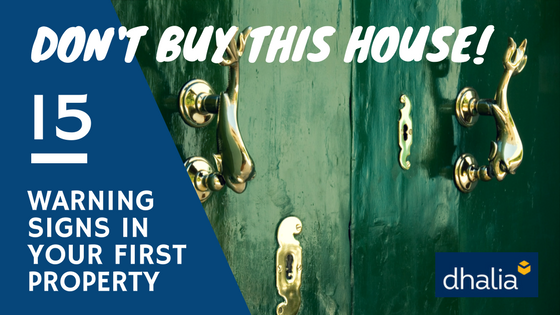 DON'T Buy This Home - 15 Warning Signs When Buying Your First Property