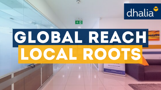 Global reach, local roots