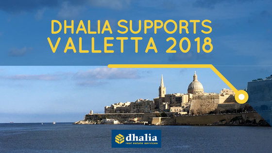 Dhalia supports Valletta 2018 in outreach efforts