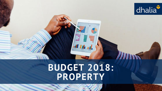 Property in the 2018 budget