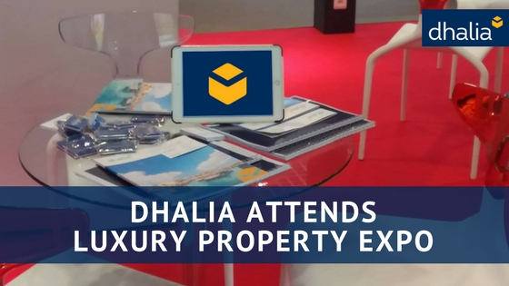 Dhalia Attends Luxury Property Expo