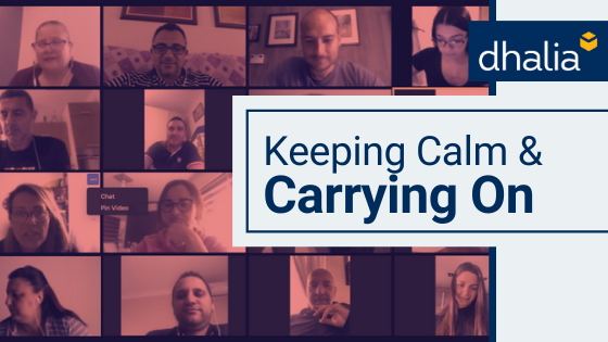 Keeping Calm & Carrying On