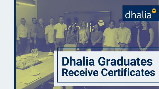 Dhalia Graduates Receive Certificates